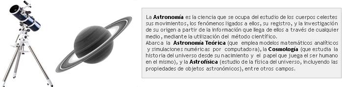 Astronomía y Espacio