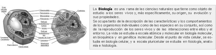 Biología y Medicina
