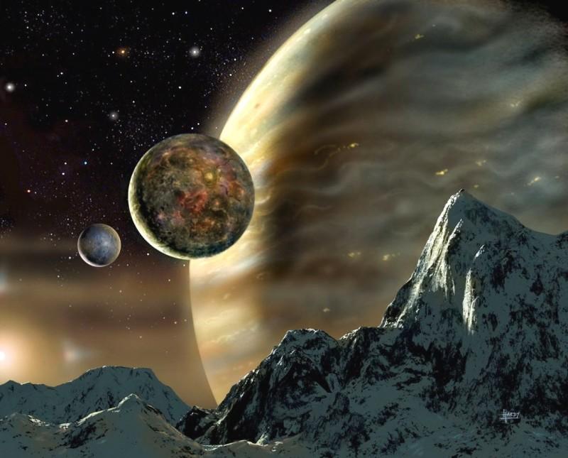 ¿Pueden existir lunas orbitando lunas?
