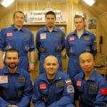 """La tripulación del Mars500, """"en casa"""""""