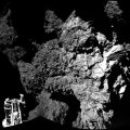 Rosetta encuentra moléculas orgánicas