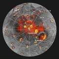 Mercurio: Messenger halla material orgánico y hielo