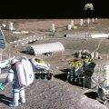 La ESA construirá una estación Lunar permanente