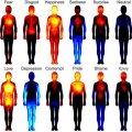 Mapas de distribución de las emociones humanas